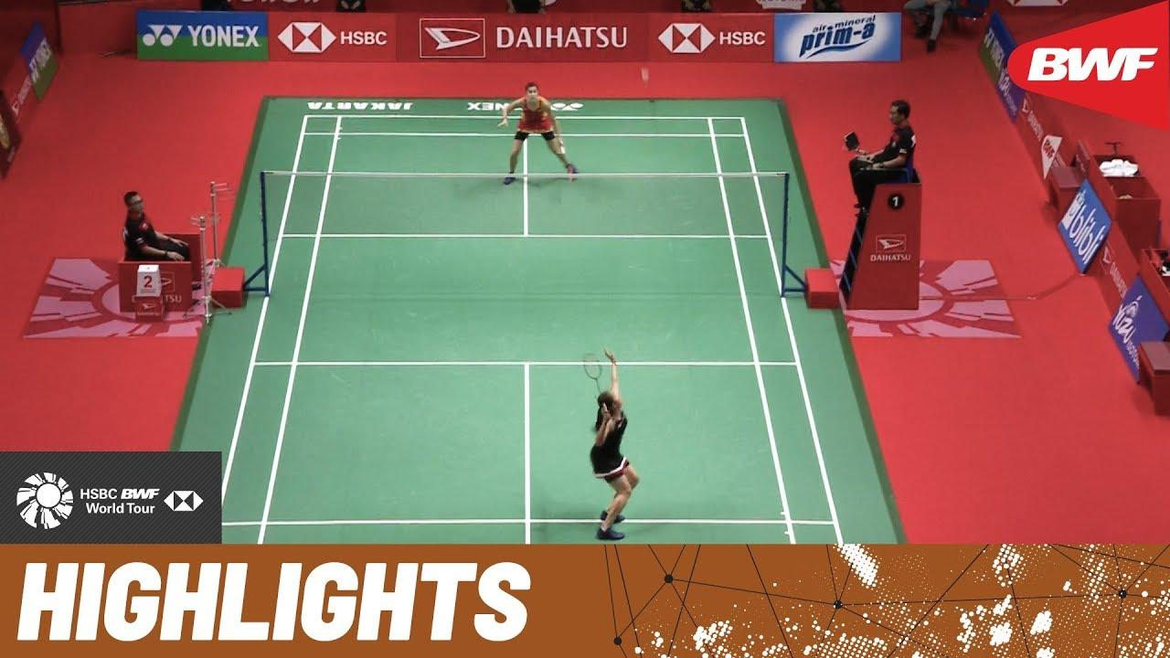 Daihatsu Indonesia Masters 2020 Finals Ws Highlights