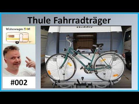 #002 Thule Fahrradträger Wohnwagen Deichsel / Wohnwagen TOM