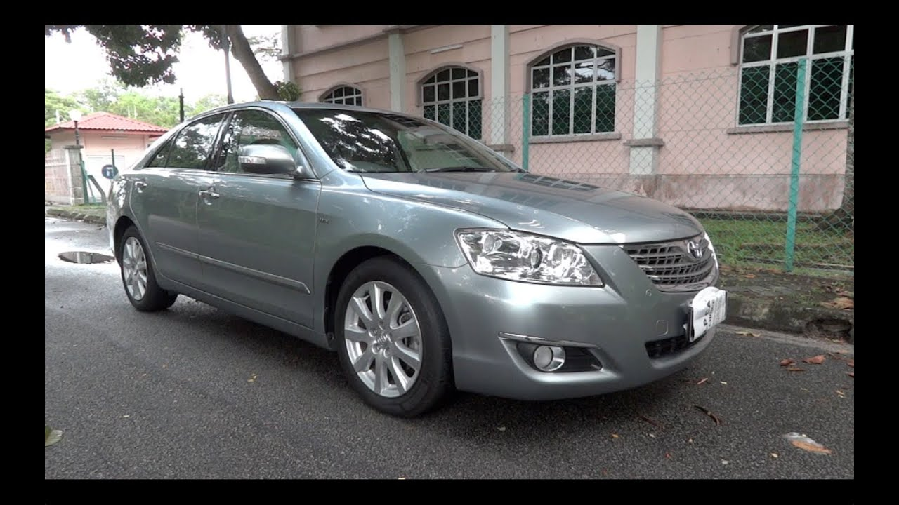 2007 toyota camry 2 4 v xv40 start up full vehicle tour and quick drive youtube. Black Bedroom Furniture Sets. Home Design Ideas