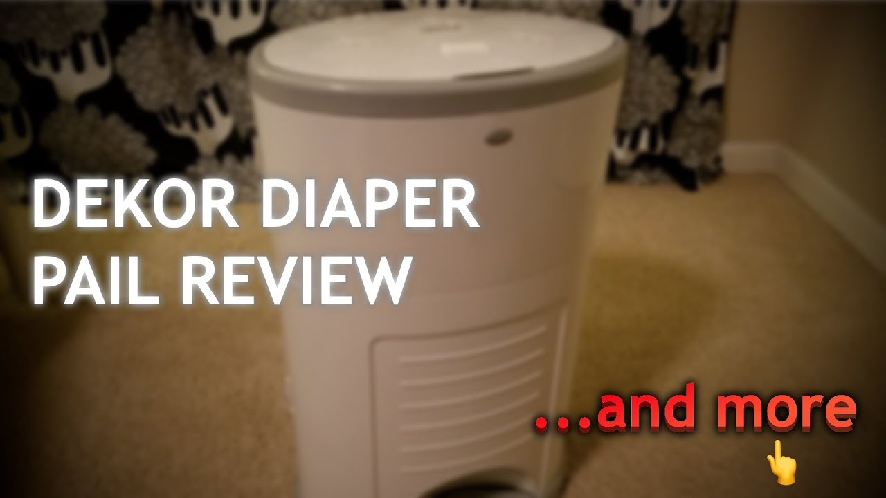 Dekor diaper pail review the refill how to change bag for Dekor diaper pail refills