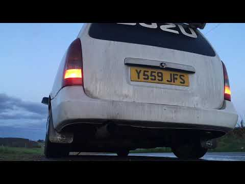 Astra Van 1.7Dti Straight Piped
