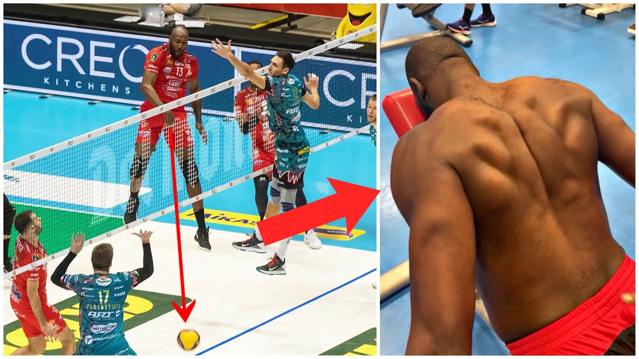 HERE'S WHY Robertlandy Simon is the KING of Middle Blockers | Spike: 389cm !!!