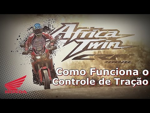 Traction control of Honda Africa Twin 2017 - Africa Twin 2017 - Honda Africa Twin