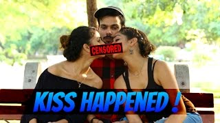 WTF ! Khushi And Ash Just Kissed On Camera !