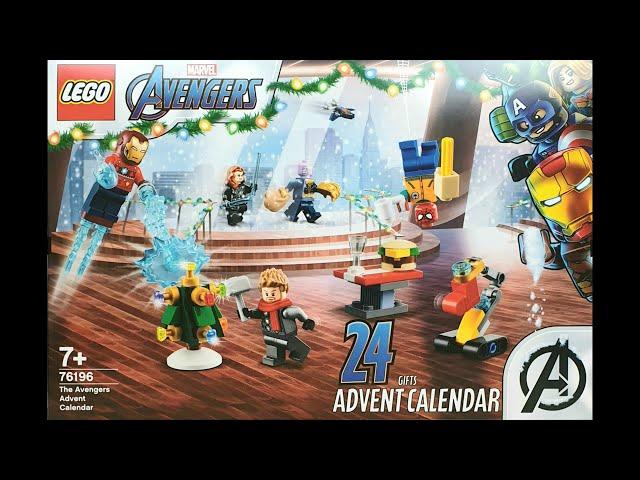 LEGO® Marvel Avengers Adventskalender 2021 (76196)