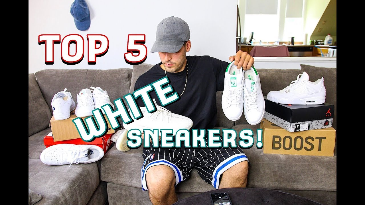 3233b0a163b MY TOP 5 WHITE SNEAKERS FOR SUMMER!