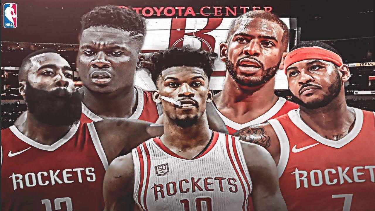 low priced 3b5eb 81fe0 JIMMY BUTLER HOUSTON ROCKETS REBUILD! NEW SUPER TEAM! NBA 2K19 MY LEAGUE