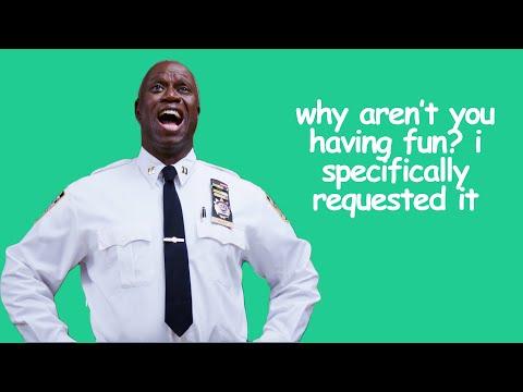 10 FUNNIEST Captain Holt Moments | Brooklyn Nine-Nine | Comedy Bites