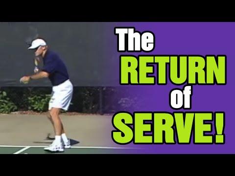 Tennis Serve - Key Ingredients Of The Return Of Serve