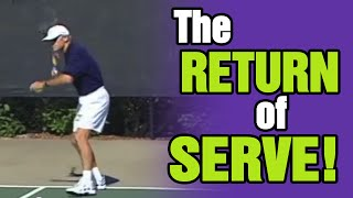 Tennis Serve - Key Ingredients Of The Return Of Serve