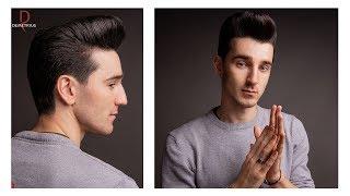 DEMETRIUS Классическая мужская стрижка Как создать правильную форму стрижки