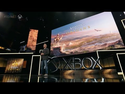 Assassin's Creed Origins - World Premiere at Microsoft E3 Press Conference