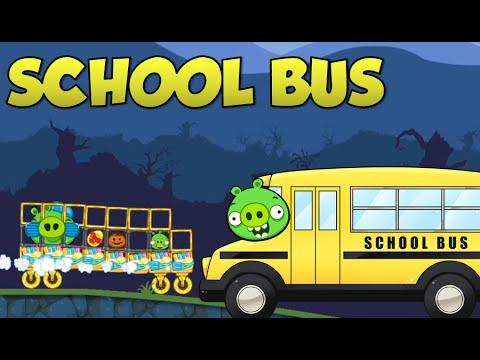 SCHOOL BUS! - Bad Piggies Inventions
