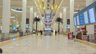 Landing in Dubai International Airport  & Terminal 3