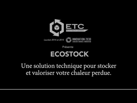 L'EcoStock d'Eco-Tech Ceram_FR