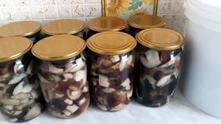 Заготовка грибов на зиму. Проверенный классный рецепт!