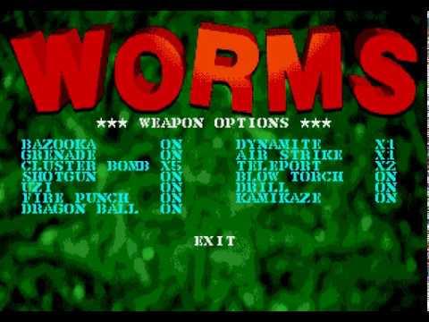 Mega Drive Longplay [500] Worms