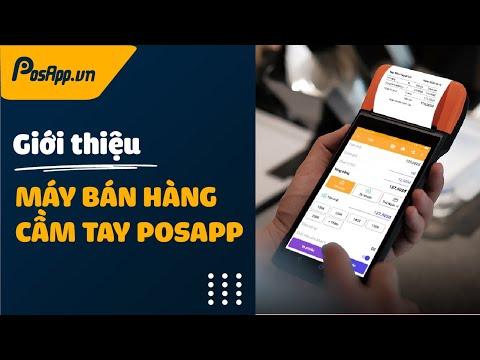 Giải Pháp Máy POS Bán Hàng Cầm Tay Tích Hợp Máy In Hóa đơn Từ PosApp.vn