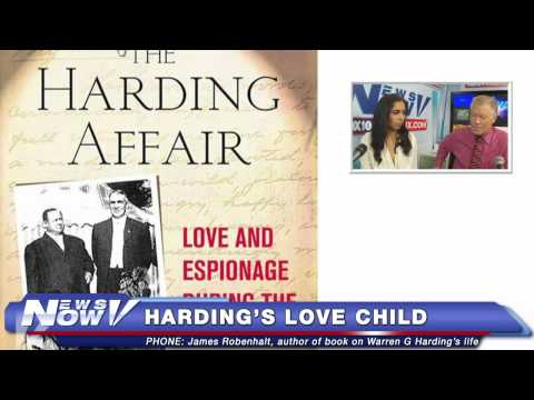 FNN: Interview with Author James Robenhalt on Warren G. Harding's Love Child
