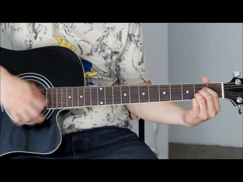 The Day You Said Goodnight Guitar Tutorial Lesson - Hale