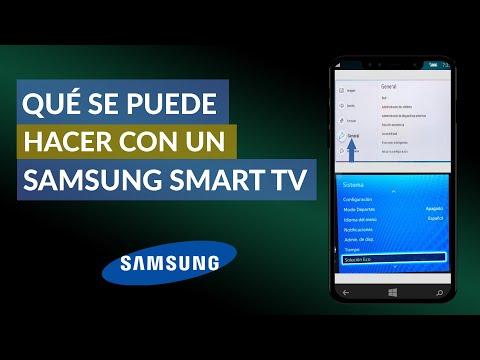Qué se Puede Hacer con un Samsung Smart TV - Todos los Trucos y Secretos