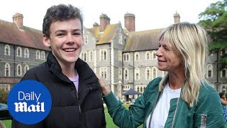 Zoe Ball and Fatboy Slim celebrate son Woody's GCSE results - Daily Mail