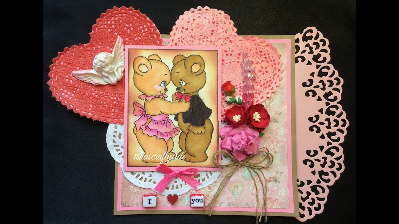 diy valentine s card anniversary card for husband boy friend