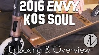 Envy KOS Soul Complete - Unboxing & Overview │ The Vault Pro Scooters