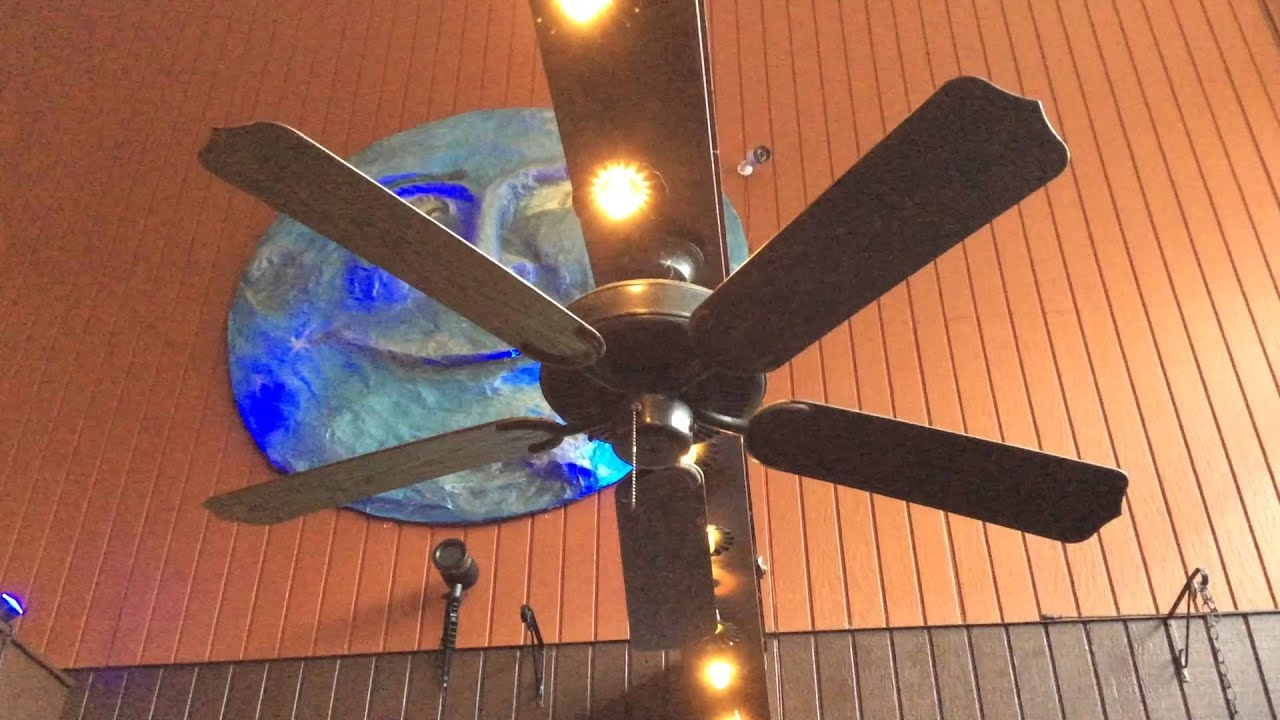 "52"" Monte Carlo & CraftMade Decorative Ceiling Fans at a Mexican"