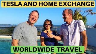 Tesla & Home Exchange Worldwide - Jo & Jean-Francois
