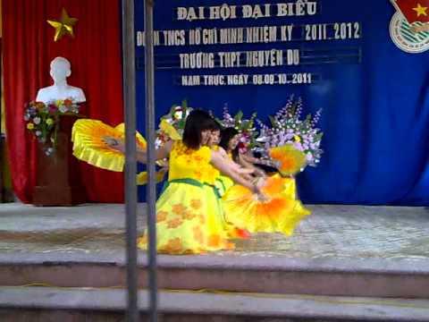 Mua Lop 12K THPT Nguyen Du Nam Dinh