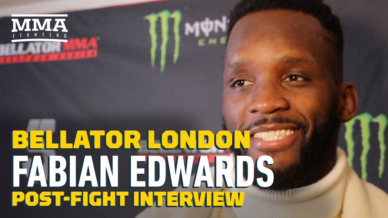 Bellator London: Fabian Edwards Open to Fighting MVP at Middleweight - MMA Fighting