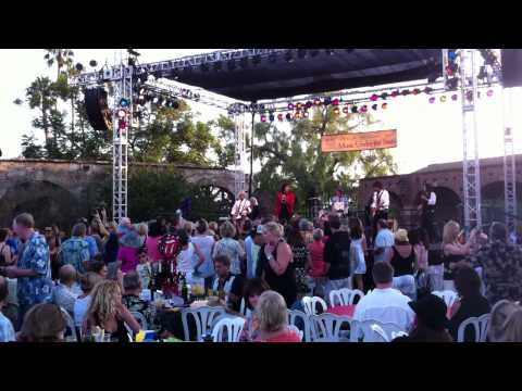 Jumping Jack Flash at Mission San Juan Capistrano's Music Under the Stars 2012