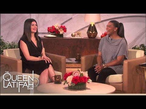 Casey Wilson Shares Hair With Teresa Giudice | The Queen Latifah Show