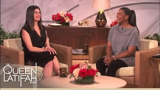 Casey Wilson Shares Hair With Teresa Giudice | The Queen Latifah Show