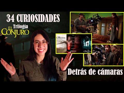 ???? Curiosidades trilogía EL CONJURO ???? detrás de cámaras y experiencias paranormales - Maritza Ariza