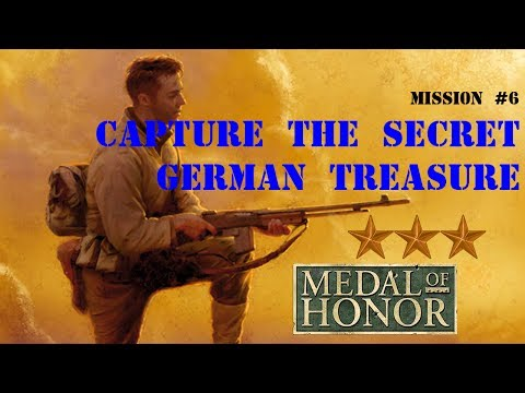 "Ⓜ Medal of Honor 1999 — 6th Mission ""Capture The Secret German Treasure"""