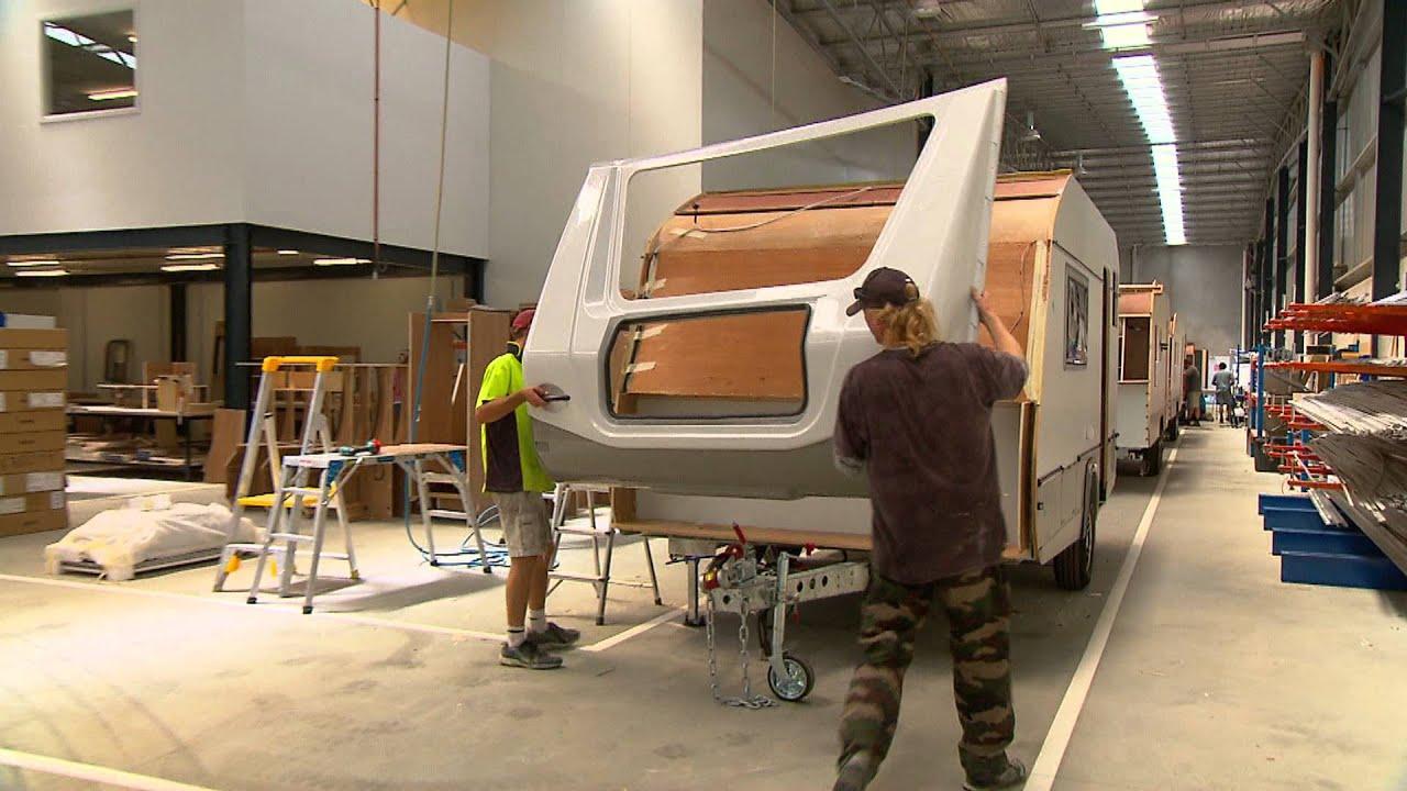 Jurgens Caravans Factory Tour