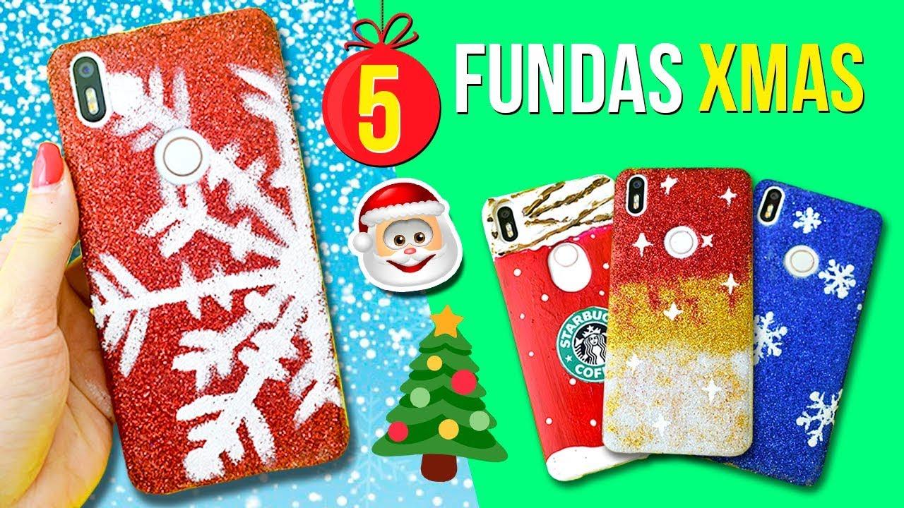 5 fundas para celular caseras de navidad f ciles for Manualidades caseras para regalar