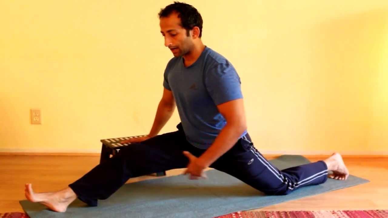 Front Split Hamstring Stretch | Manu Kalia | Video 111 | TridoshaWellness