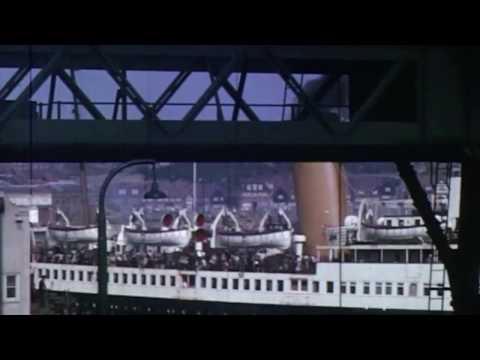 Folkestone Waterfront 1960's - Vintage Home Movie