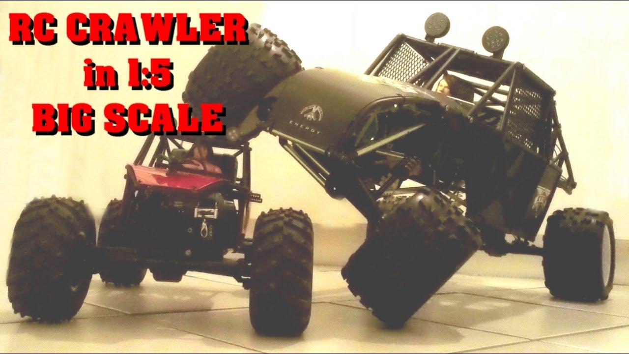 DUNE ROCK CRAWLER in 1:5 - SCALE CRAWLER GROSSMODELL - Darconizer RC ...