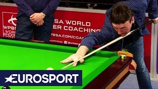 Shots Recreated: Jimmy White Takes on Trump's Masterpiece | Snooker | Eurosport
