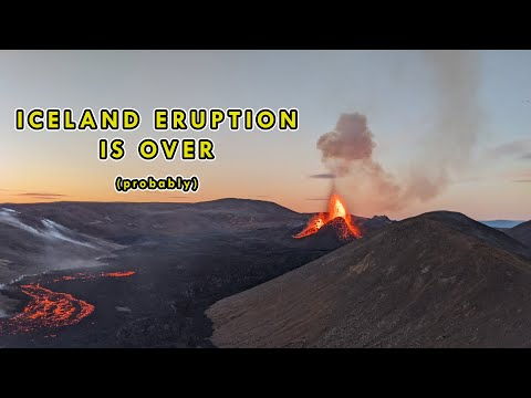 The Iceland Volcano Eruption is Most Likely Over