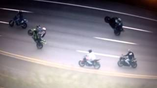 Raw Ride of the Century Police Helicopter Footage ROC 2012