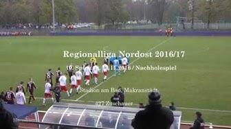 RB Leipzig U23-BFC Dynamo,10.Spieltag 2016
