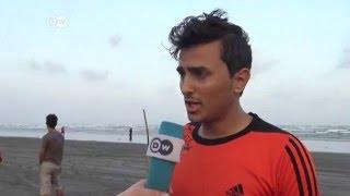 بعد تدميرالملاعب.. أهل عدن يمارسون الرياضة على الشاطئ | الأخبار