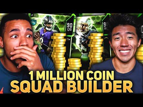 ONE MILLION COIN SPENDING SPREE CHALLENGE VS WALKER! Madden 20 Ultimate Team