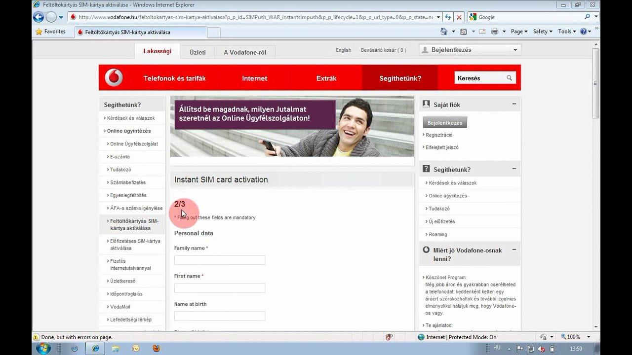 Carte Sim Cdiscount Activation.Support Video Online Prepaid Sim Card Activation Instant
