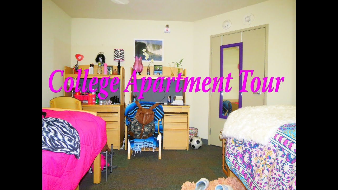 College Apartment Tour (SFSU) - YouTube